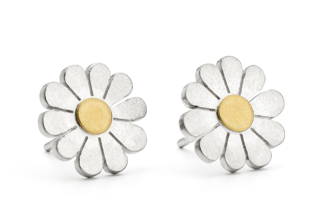 Little Daisy Stud Earrings by Diana Greenwood