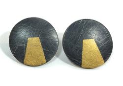 Rotund Stud Earrings by Sophie Stamp. Product thumbnail image